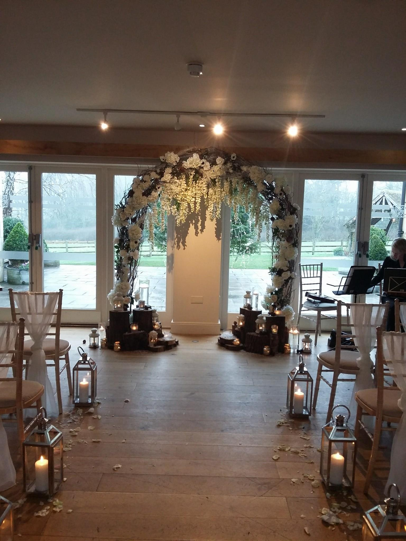 hyde house and barn wedding string quartet