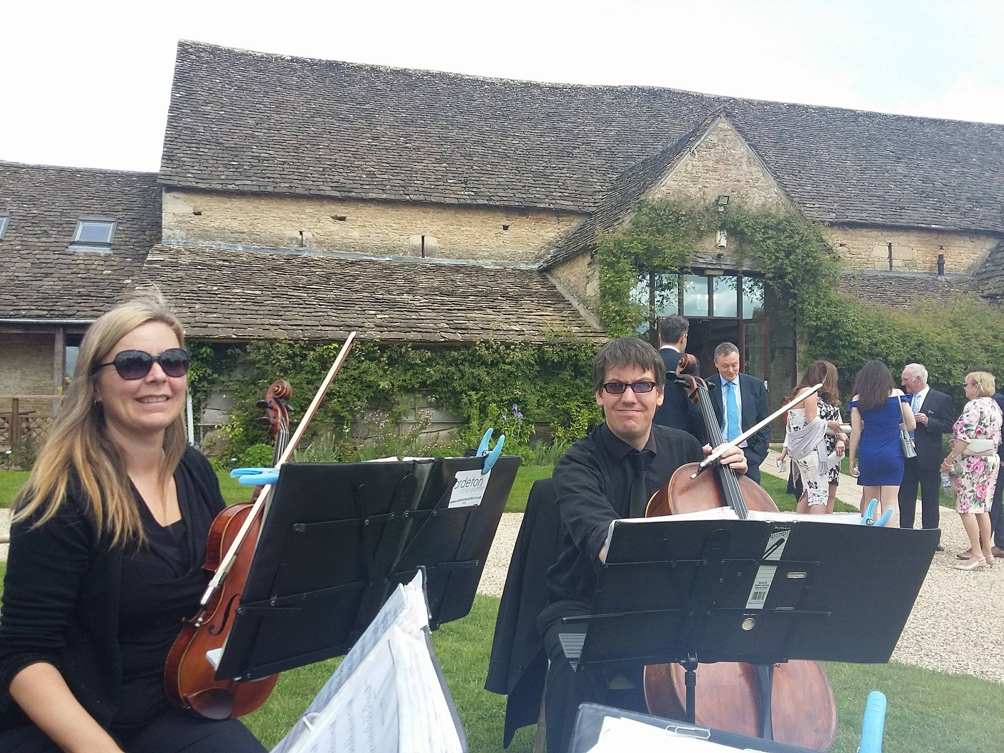 great tythe barn ardeton string quartet from Bristol